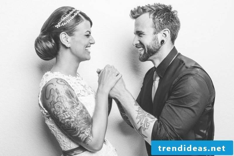 Rockabilly wedding unique