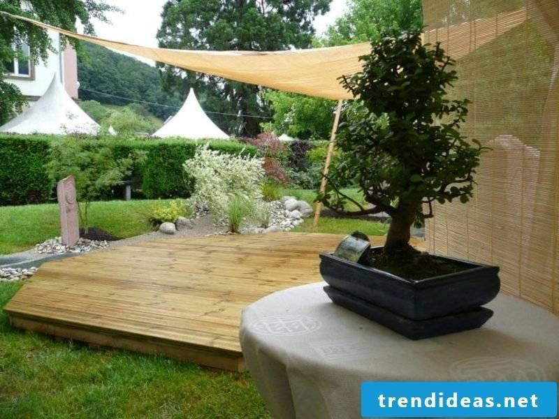 Garden design after Feng Shui