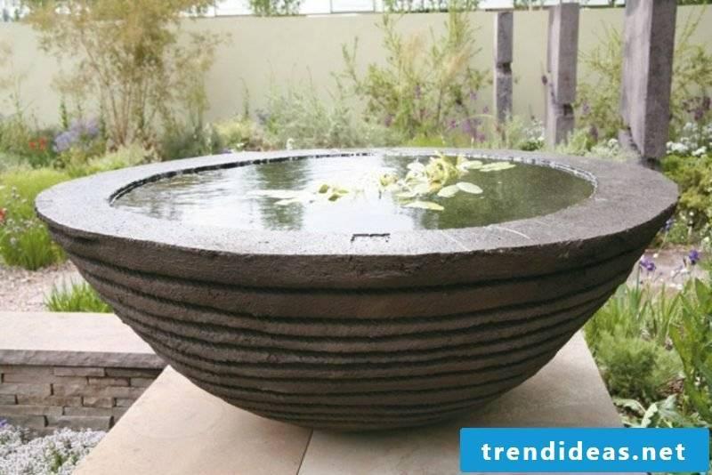 Feng Shui garden decorative pond