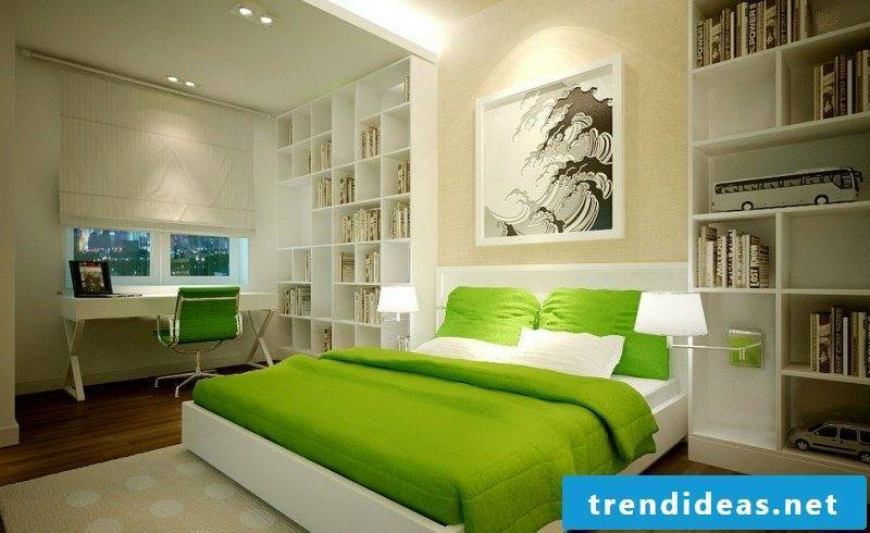 Design the bedroom according to Feng Shui