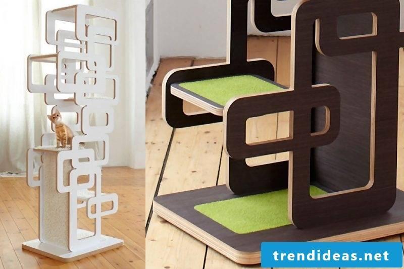 Cat furniture shelves