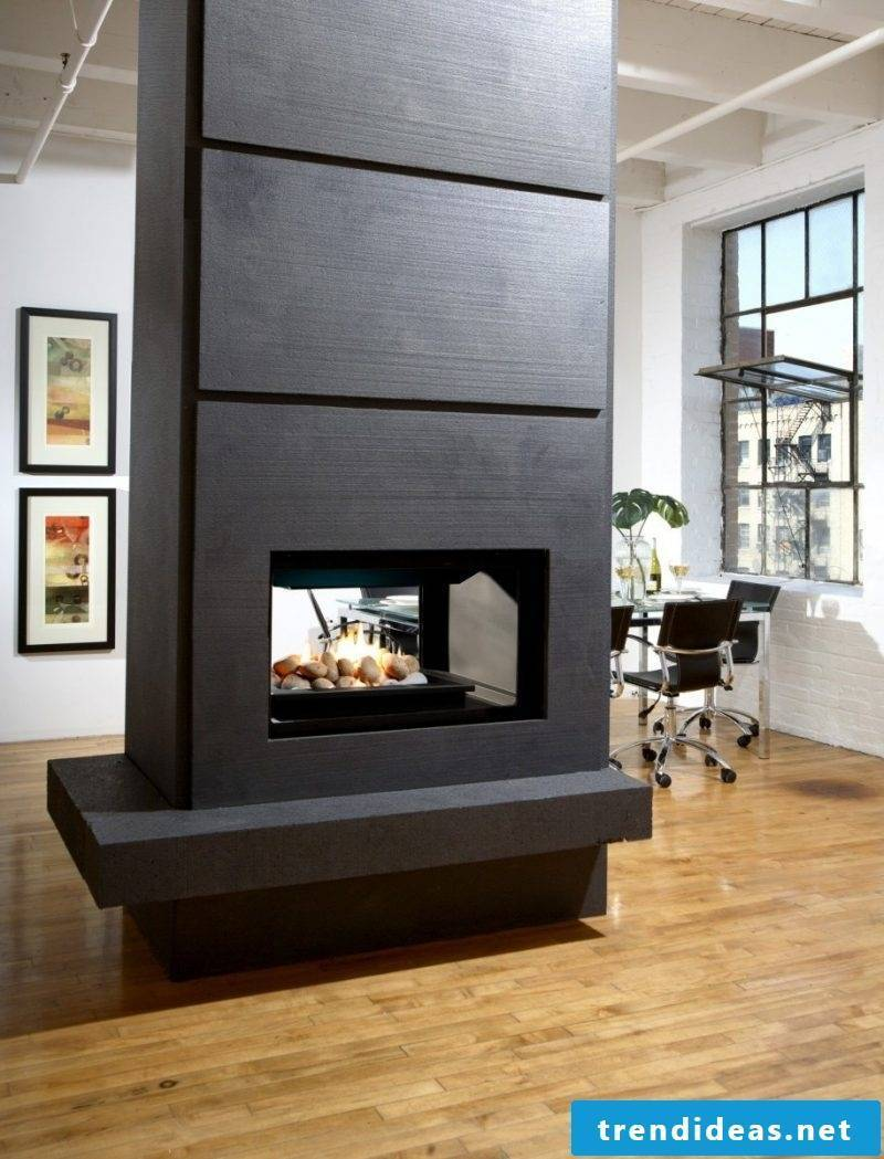 High chimney panel modern design