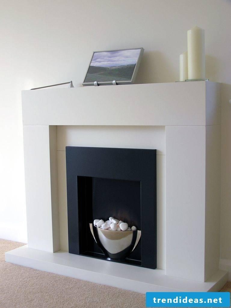 Chimney panel white