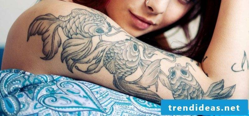 fish tattoo fish