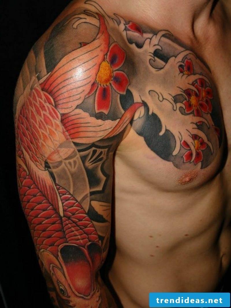 fish tattoo koi fish