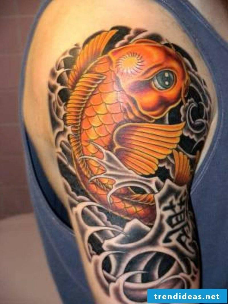 fish tattoo Koi Fish Tattoo