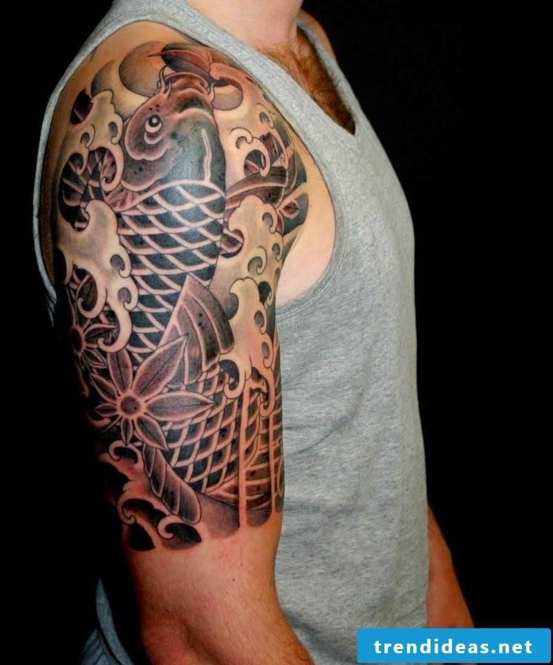 fish tattoo 3d