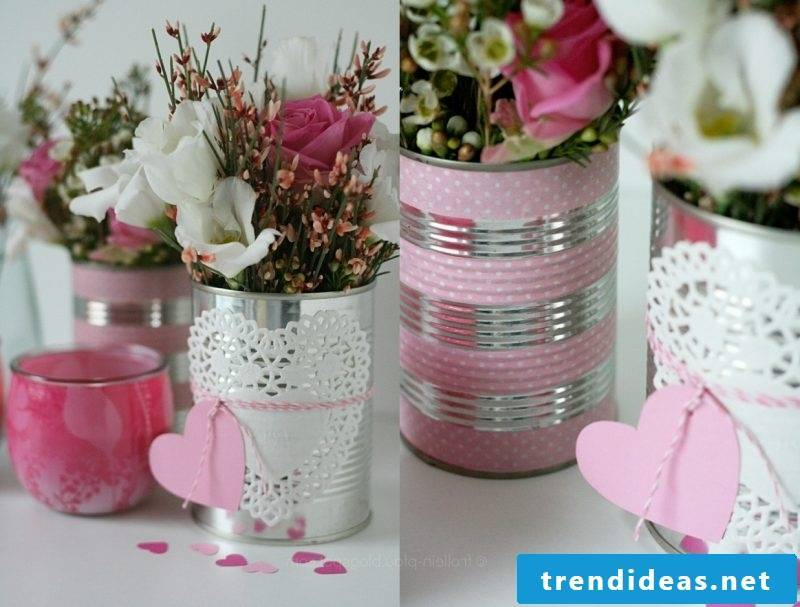 floral table decoration creative