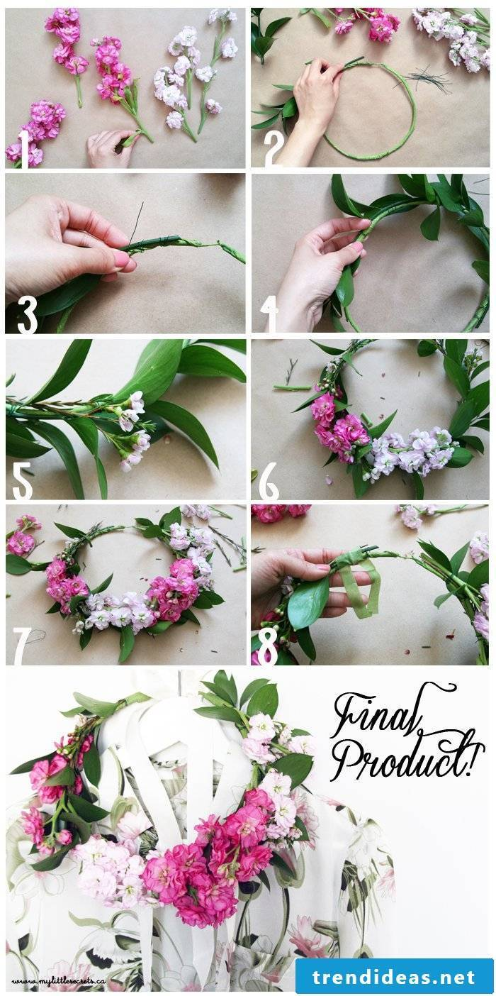 Braid wreath