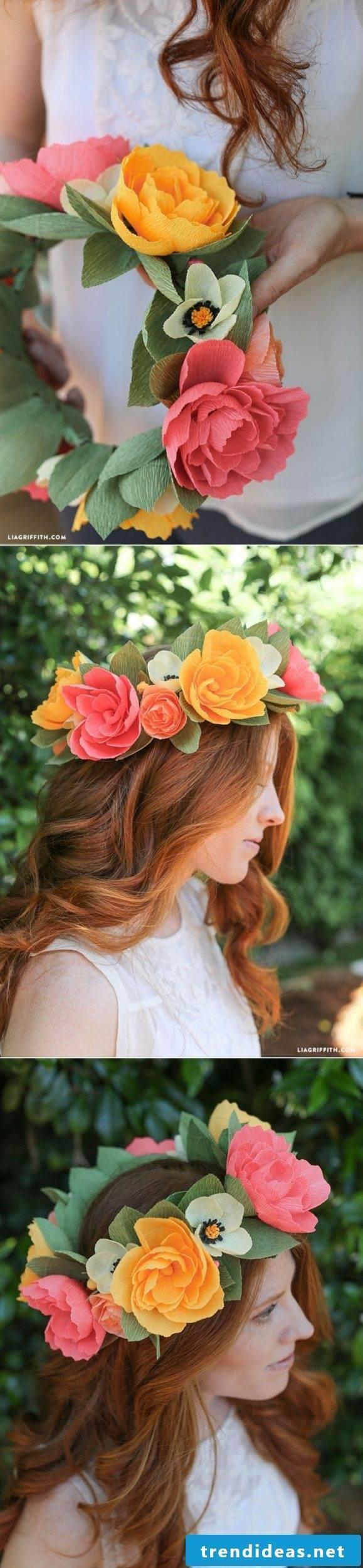 Wreath braid
