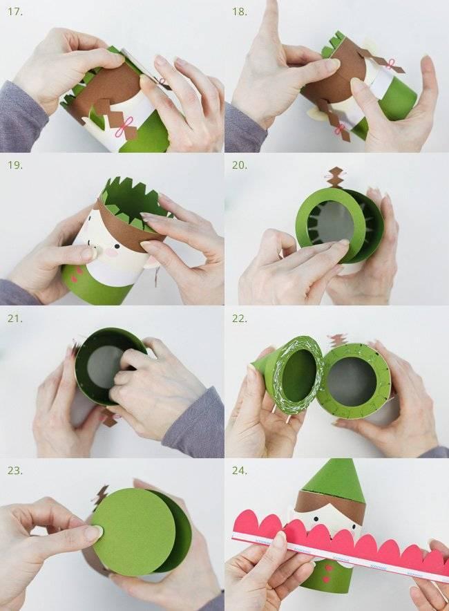 DIY instructions: making Christmas figures