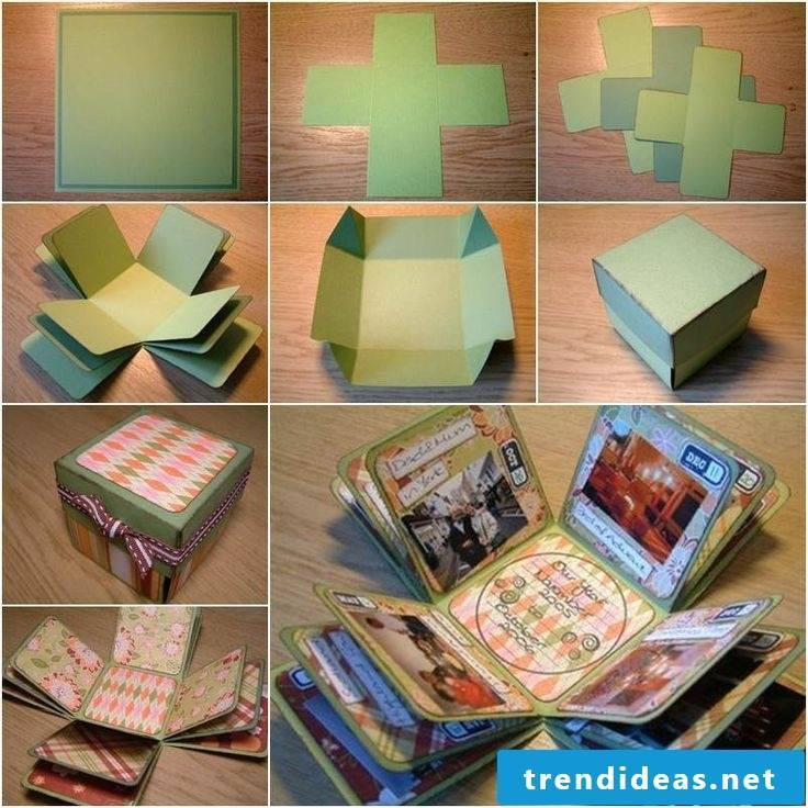 Making carton: making gift wrapping