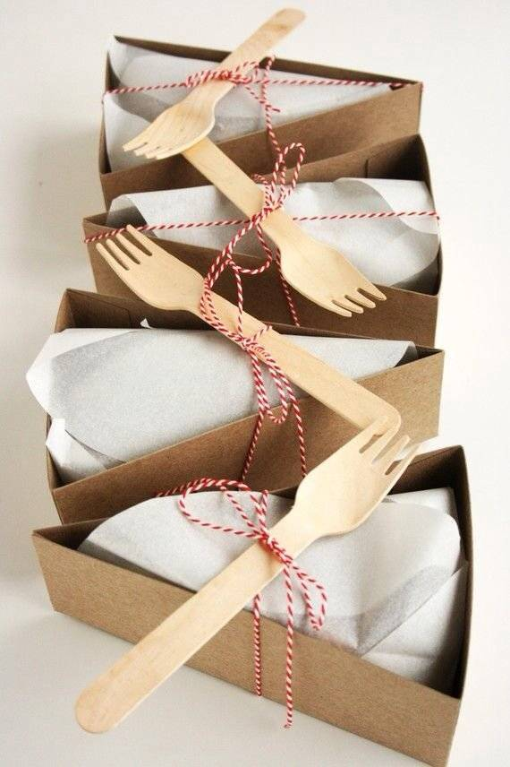 Box fold for cake
