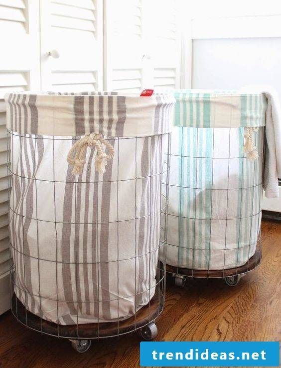Great and easy ideas for laundry basket to imitate