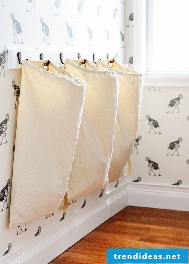 Think creatively!  Make your laundry basket yourself!