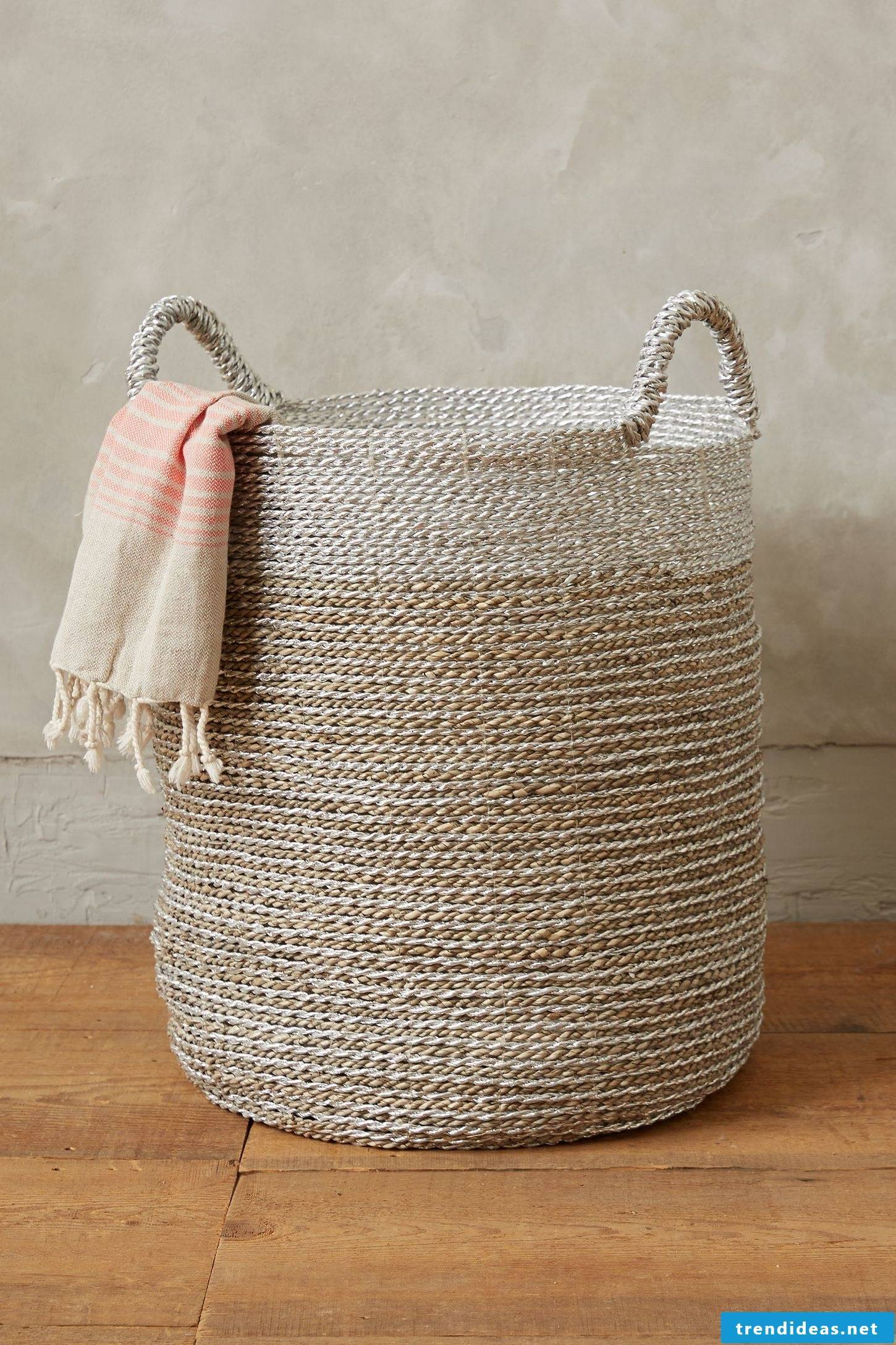 Great ideas for laundry basket