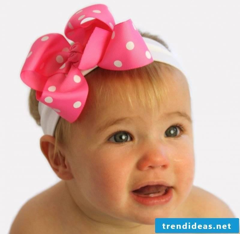 Baby hair band already