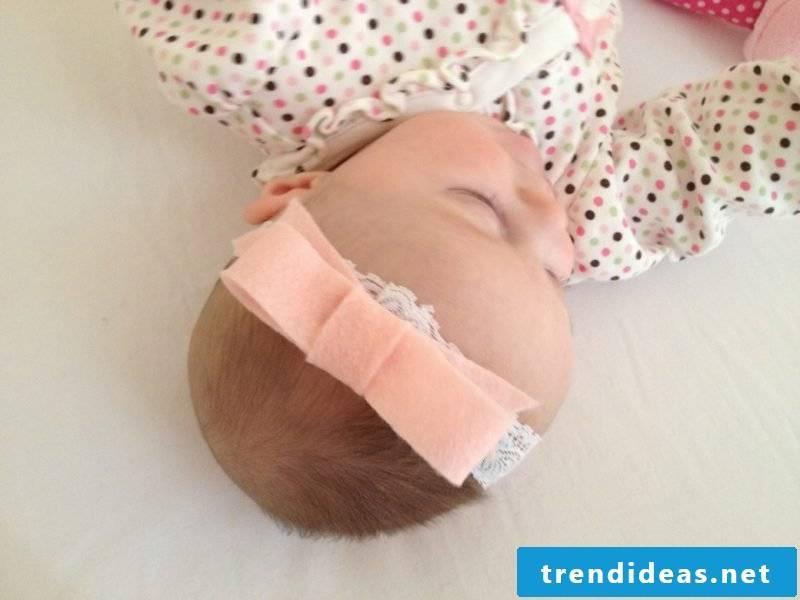 Baby Hairband Done