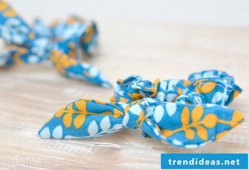 Baby hairband blue