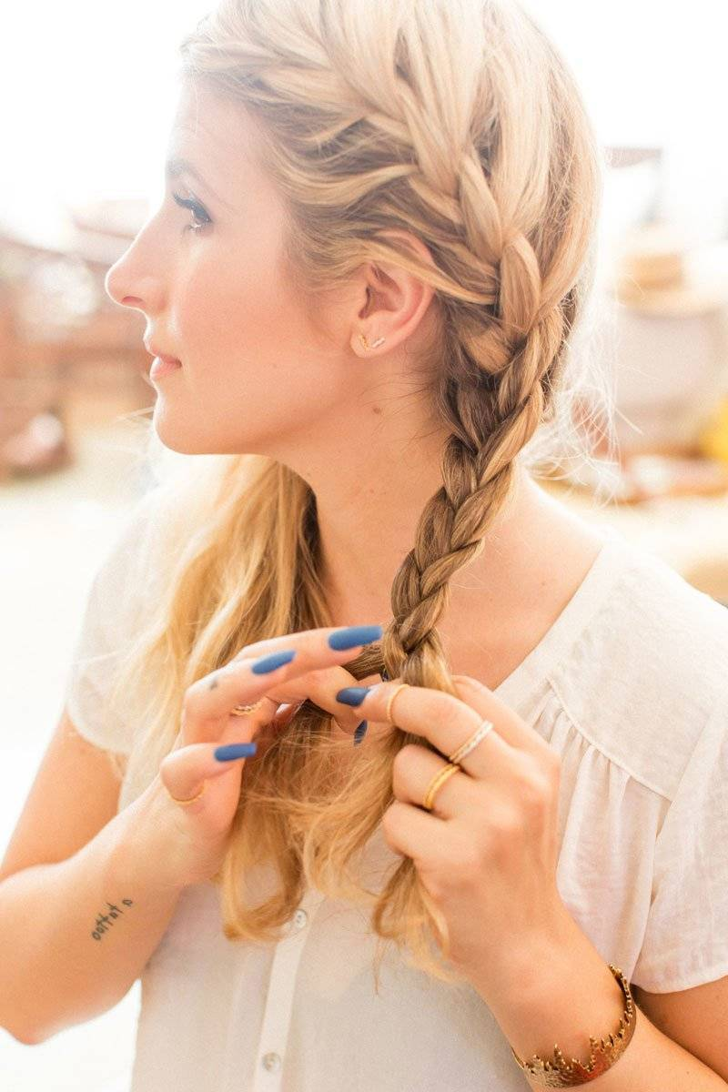 french braid instruction braids double french braid