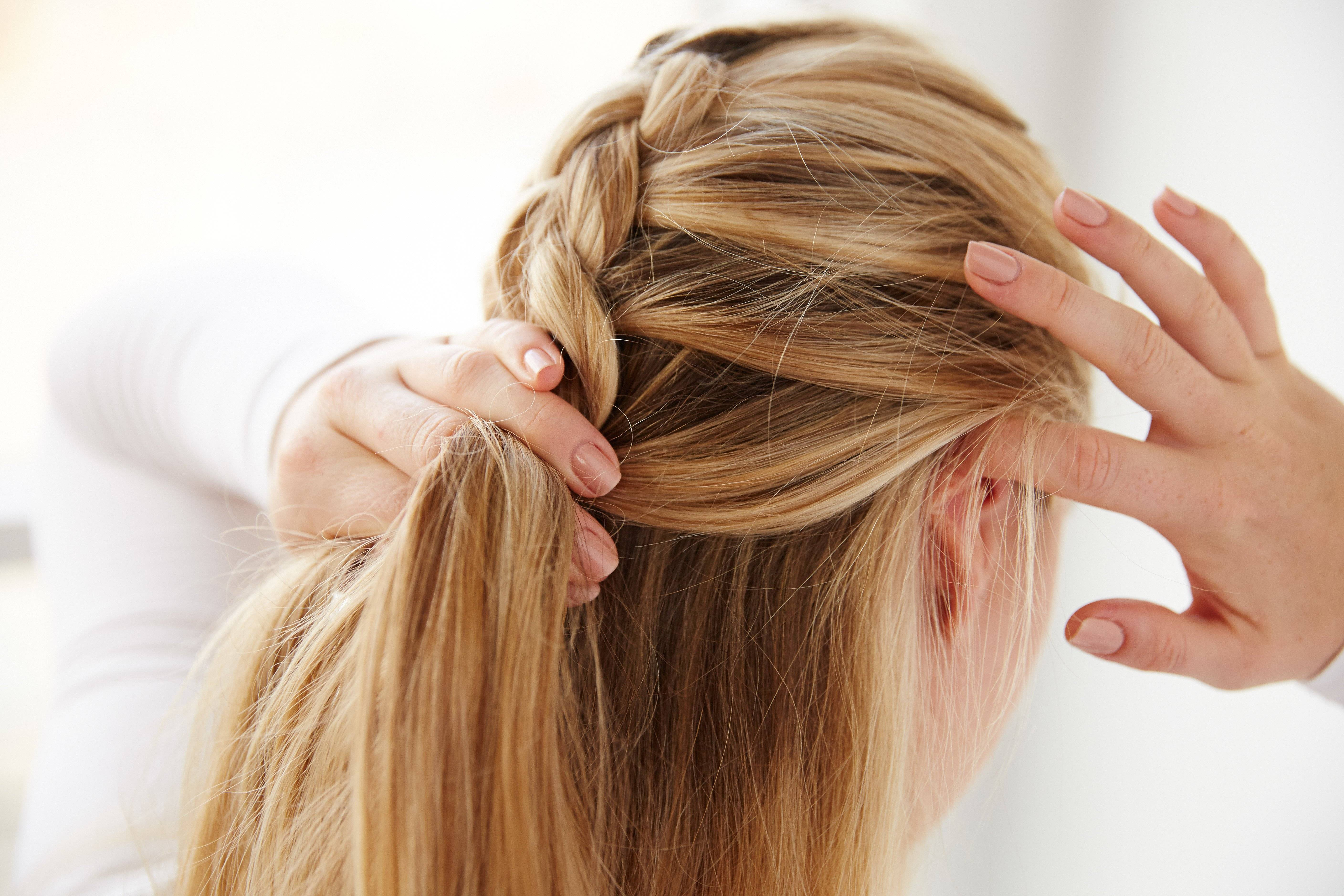 French braid instructions braided hairstyles