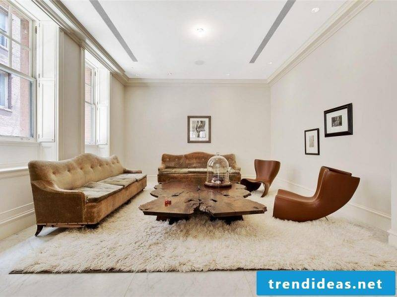 furnishing ideas beautiful living room carpet fur