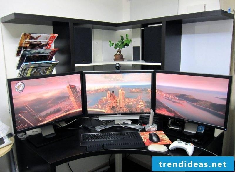 Gaming desk Ergonomics
