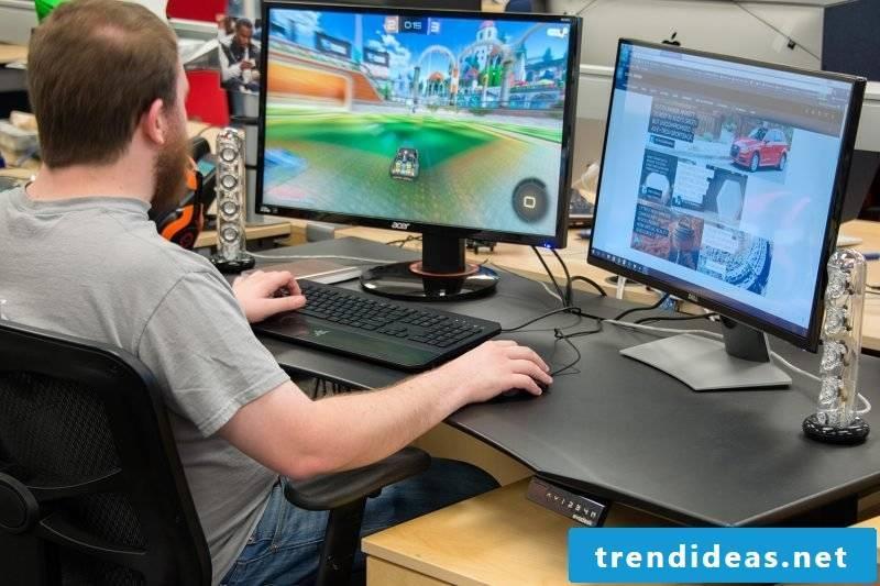 Gaming Desk Ergonomic