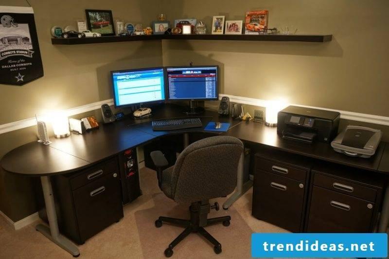 Gaming desk wood