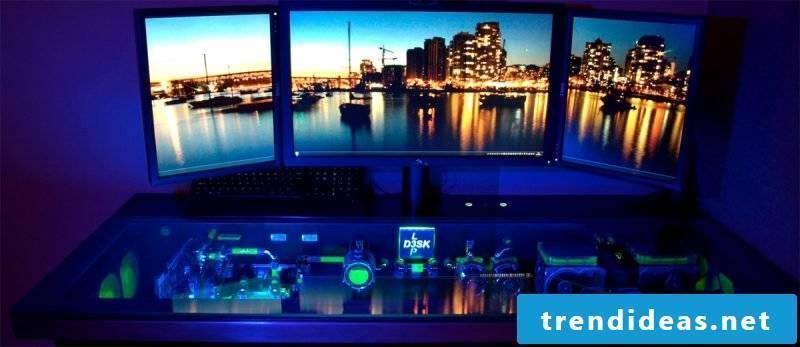 Gaming desk light