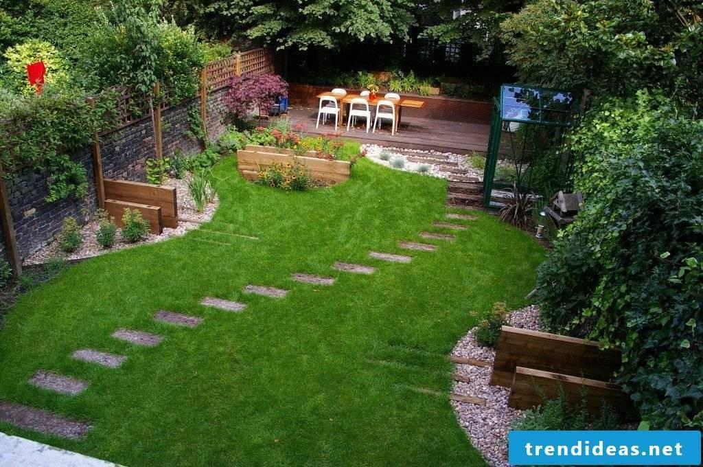Garden design - my house, my garden, my peace
