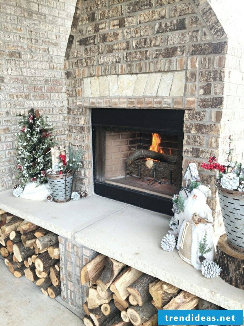 Garden fireplace construction manual original design ideas