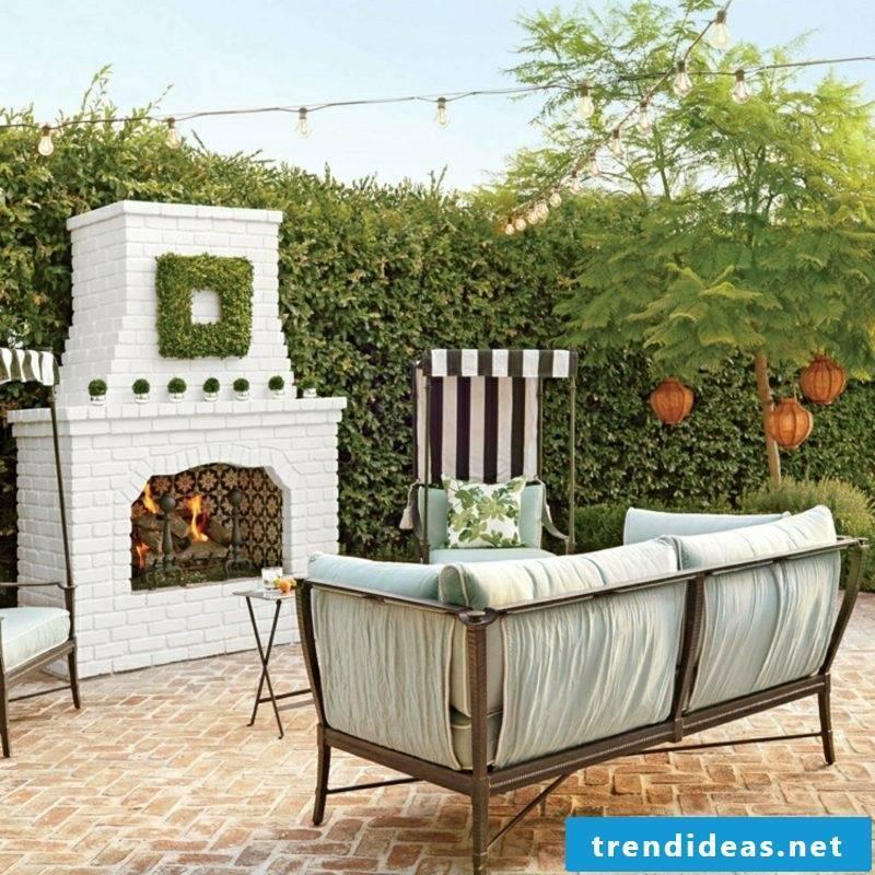 Tips Building instructions Garden fireplace