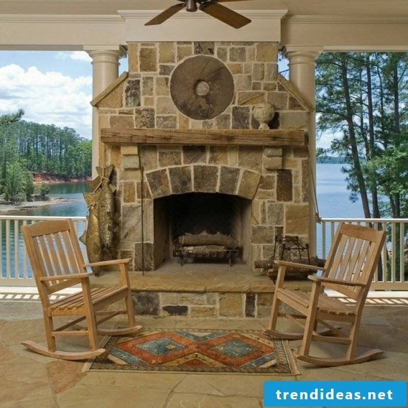 simple instructions to build garden fireplace yourself