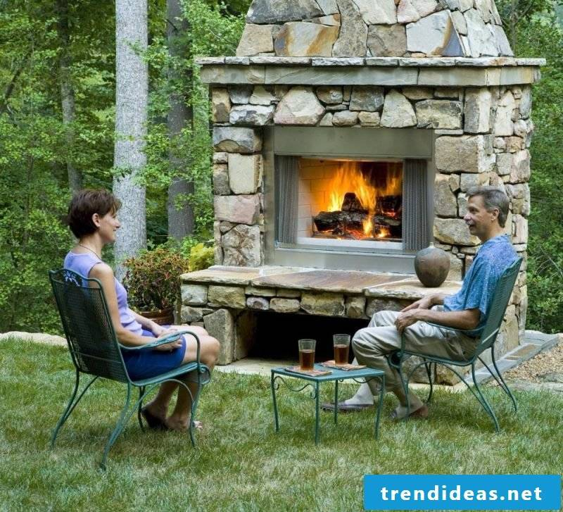 Garden fireplace build instructions and tips