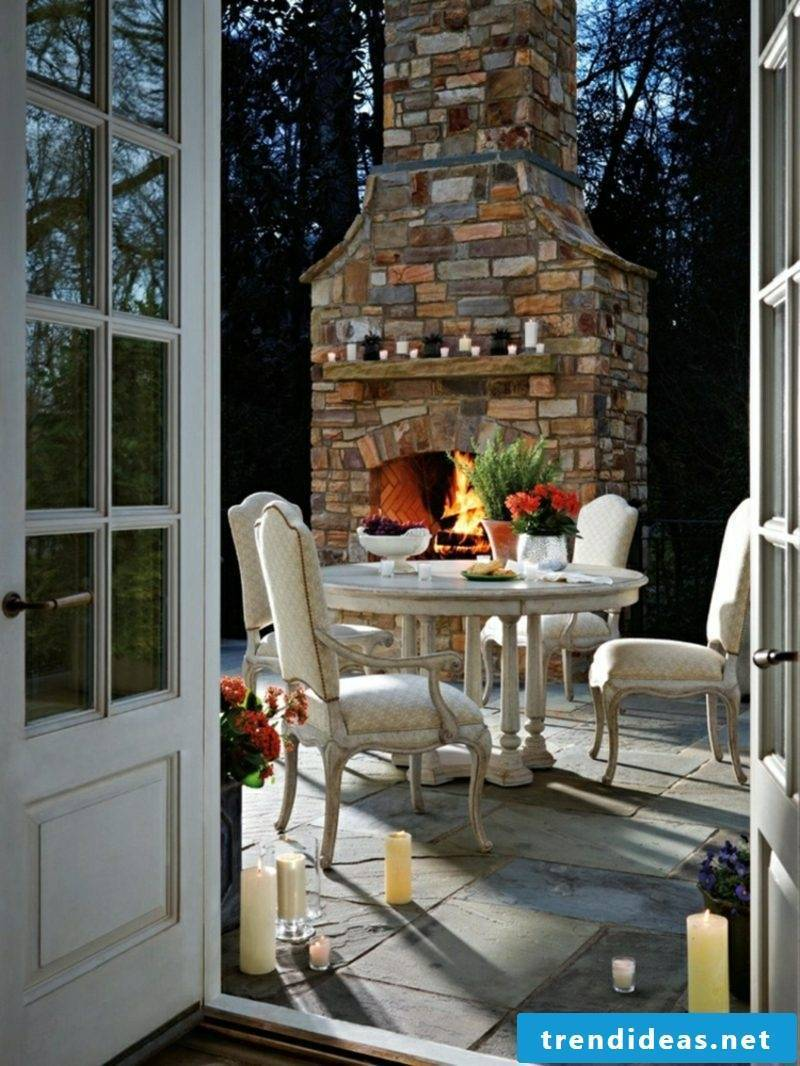 Garden fireplace build how are you
