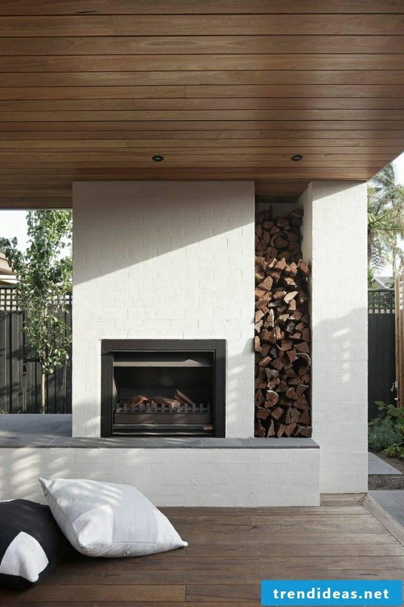 Garden fireplace itself build advantages
