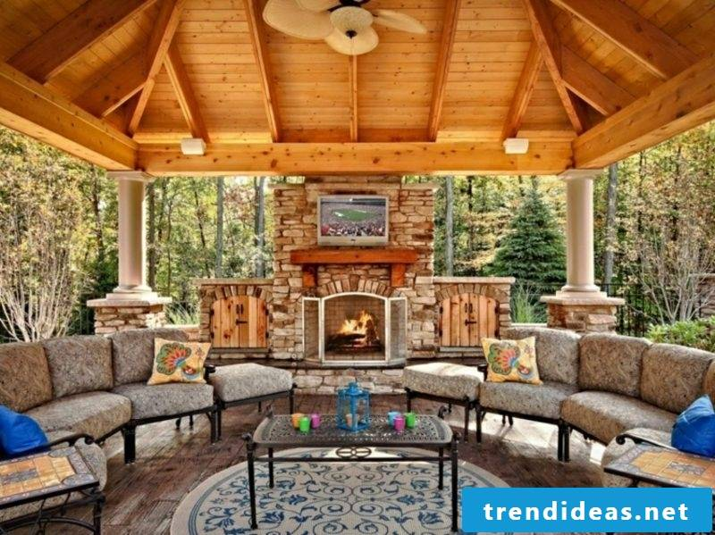 simple construction guide garden fireplace
