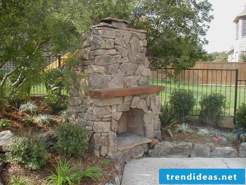 DIY garden fireplace build simple guide