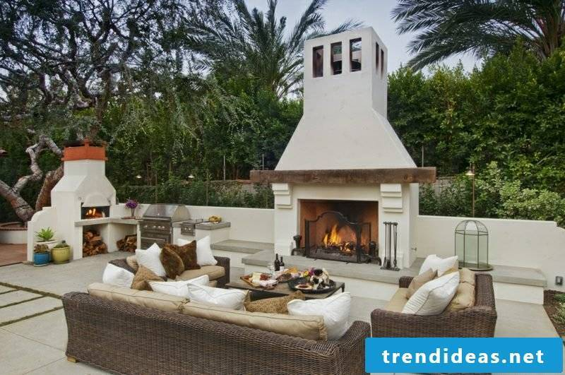 Garden fireplace quickly and easily build yourself instructions