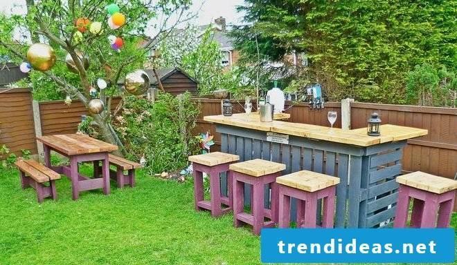 garden furniture from pallets garden armchair instruction pallet furniture garden