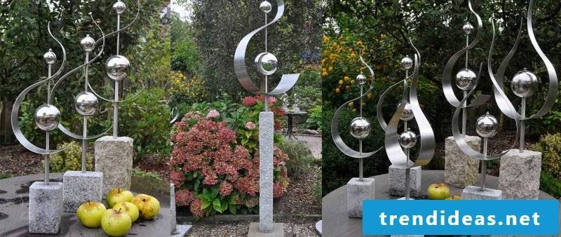 garden sculptures gemstone