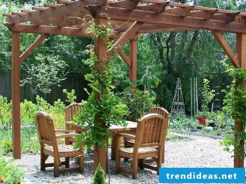 Garden design ideas pergola