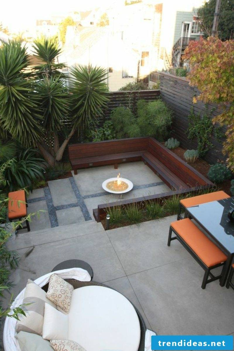 Garden design ideas exotic plants