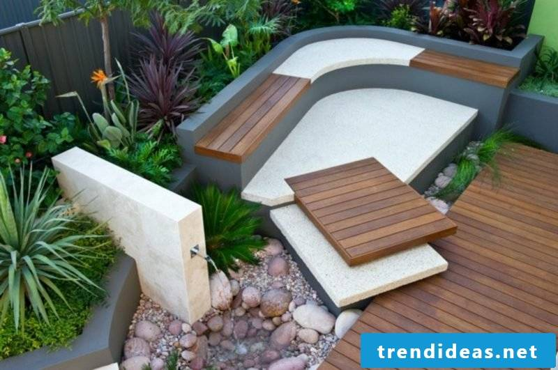 Garden design ideas sitting area