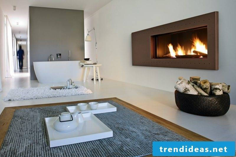 Gas fireplaces Romantic