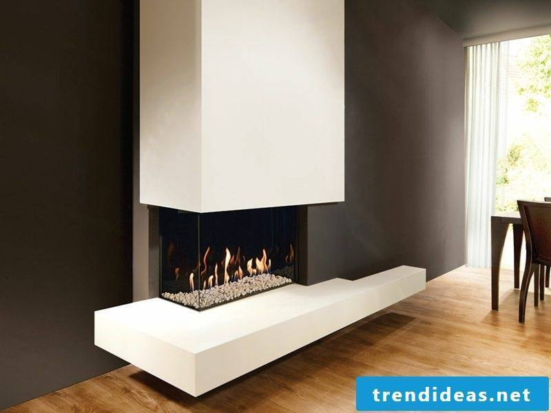Modern gas fireplaces are an attractive alternative to classic wood firing