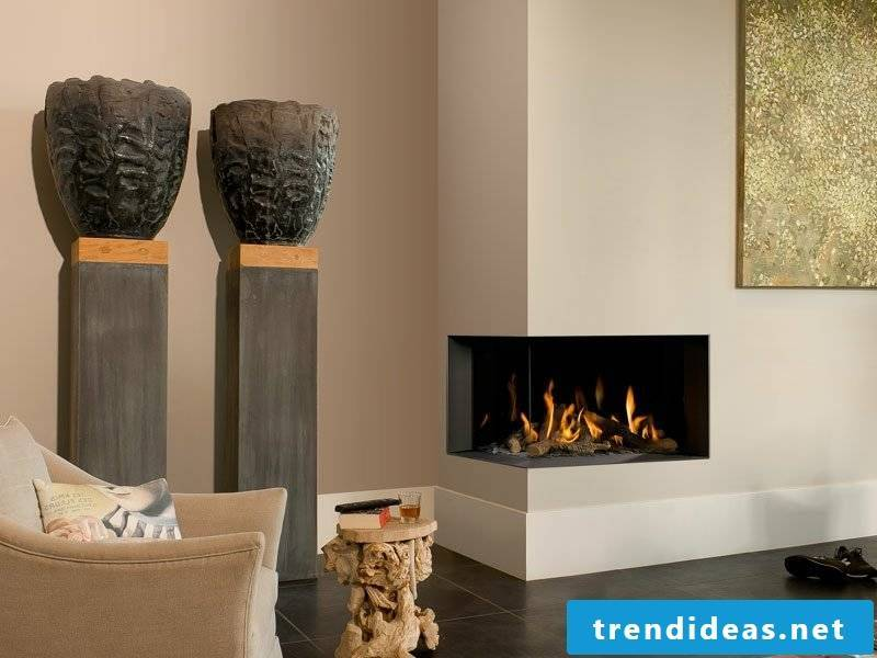 Advantages of the gas fireplace