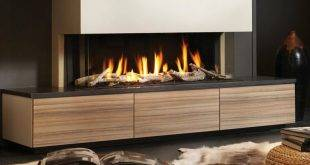Gas fireplaces - 50 ideas for a cozy ambience