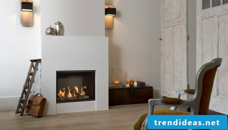 Enjoy the heat of gas fireplaces